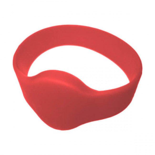 IL-10D54ER RFID Браслет силиконовый (красный)