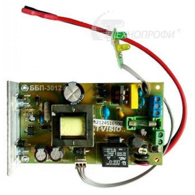 T-VISIO ББП-5012 12В/5А (Плата)  Бесперебойный блок питания