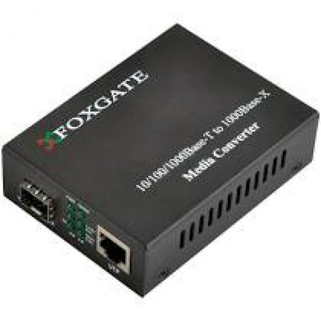 FoxGate EC-B-0.1-1SM-1310nm-20 Медиаконвертер